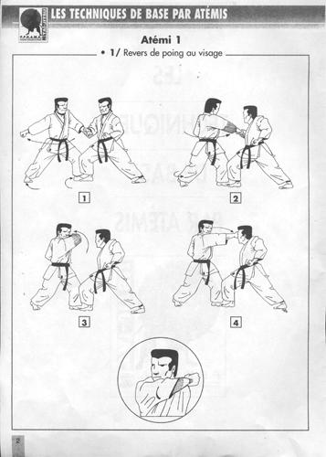 Technique de base 1 atemi