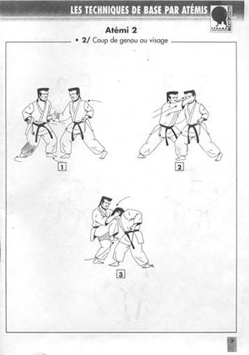Technique de base 2 atemi