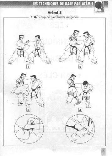 Technique de base 8 Atemi