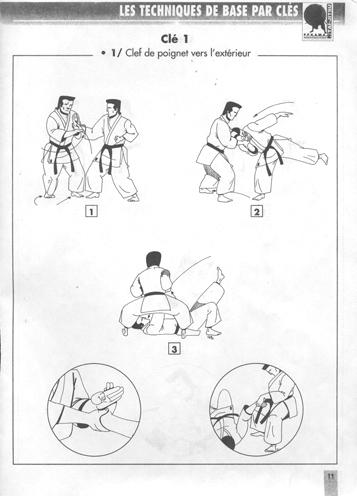 Technique de base 1 clé